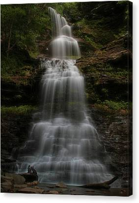 Cathedral Falls West Virginia Canvas Print by Dan Sproul