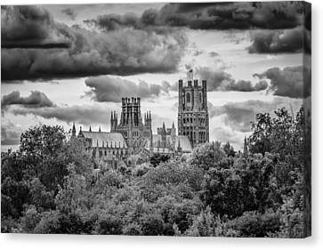 Cathedral From The North-east Canvas Print