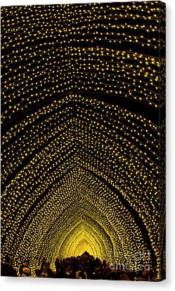 Canvas Print - Cathedral Of Light - Vivid Sydney by Bryan Freeman