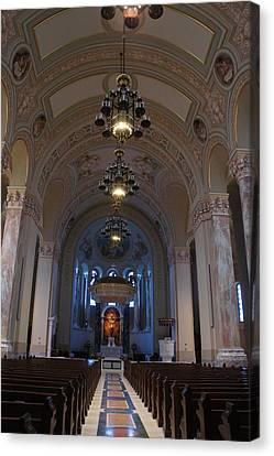 Cathedral Of Saint Joseph  Canvas Print by Art Spectrum