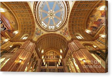 Cathedral Of St. Matthew Vi Canvas Print by Irene Abdou