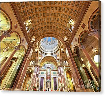 Cathedral Of St. Matthew Viii Canvas Print by Irene Abdou
