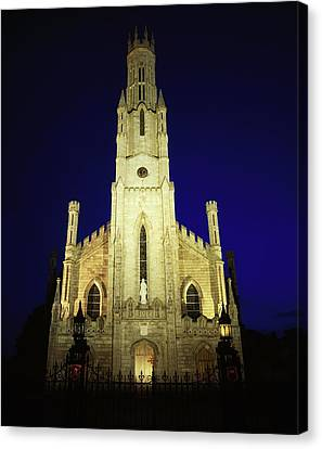 Cathedral Of The Assumption, Carlow, Co Canvas Print by The Irish Image Collection