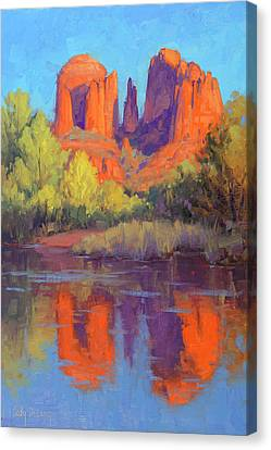 Cathedral Reflections Canvas Print by Cody DeLong