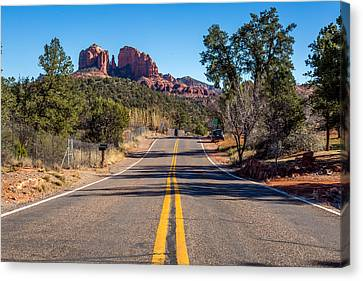 Cathedral Rock #2 Canvas Print by Jon Manjeot
