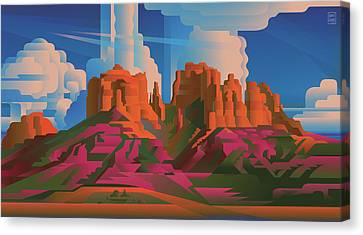 Cathedral Rock Arizona Canvas Print
