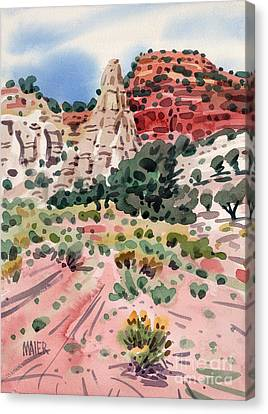 Cathedral Rock Canvas Print by Donald Maier