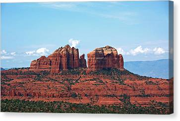 Cathedral Rock Canvas Print by Kelly Wade