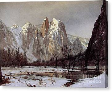 Cathedral Rock Canvas Print
