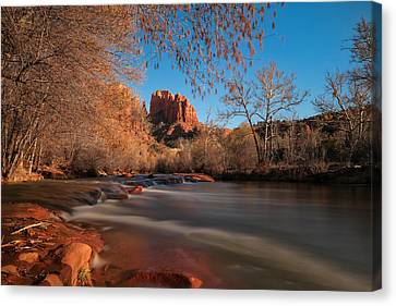 Cathedral Rock Sedona Arizona Canvas Print by Larry Marshall