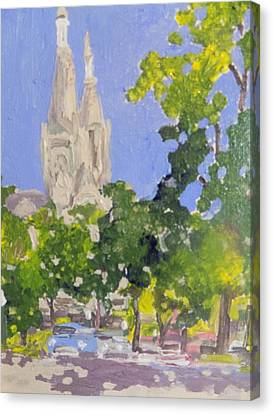 Cathedral Canvas Print by Rodger Ellingson