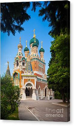 Cathedral Russe Canvas Print by Inge Johnsson