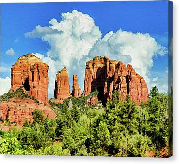 Cathedral Sed M 04-115 Canvas Print by Scott McAllister