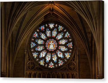 Cathedral Window Canvas Print