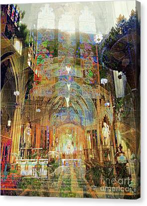 Cathedrals Of The Timeless Canvas Print