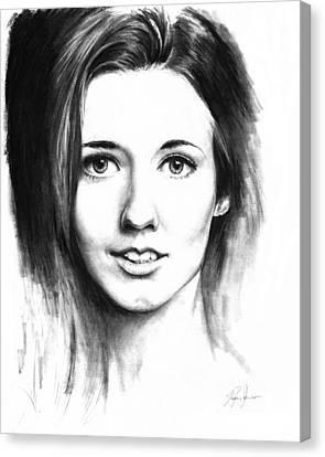 Catherine Mccormack Canvas Print by Ryan Jones