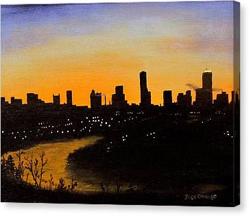 Catherine's Sunrise Canvas Print by Jack Skinner