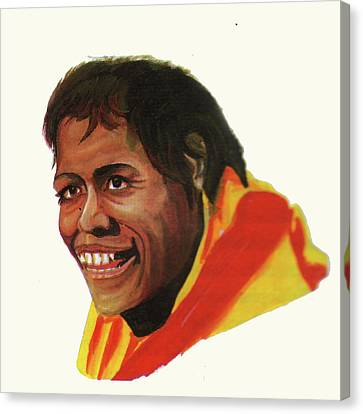 Cathy Freeman Canvas Print