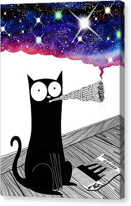 Catnip  Canvas Print by Andrew Hitchen