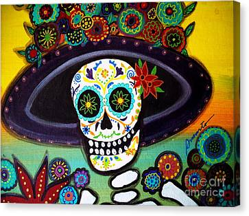 Catrina Canvas Print by Pristine Cartera Turkus