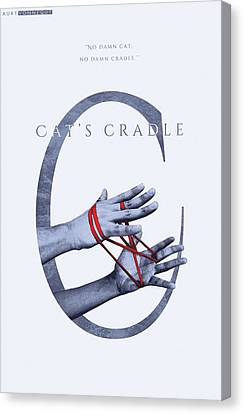 Cat's Cradle, Kurt Vonnegut Canvas Print by Connor Sorhaindo