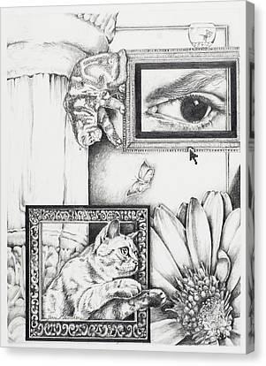 Cat's Eye View Canvas Print