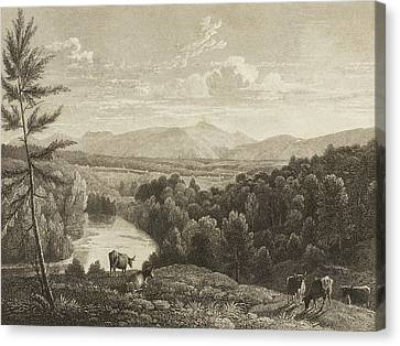 Mountain Canvas Print - Catskill Mountains by Asher Brown Durand