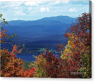 Catskill Mountains Photograph Canvas Print by Kristen Fox