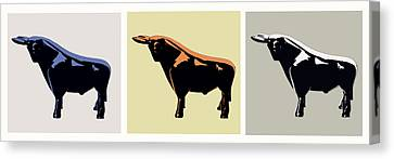 Cattle Baron Canvas Print by Slade Roberts