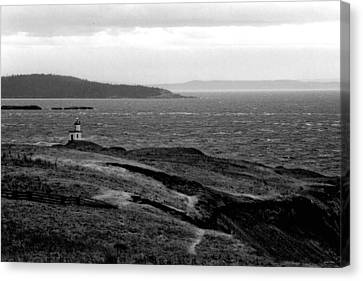 Cattle Point Lighthouse Canvas Print