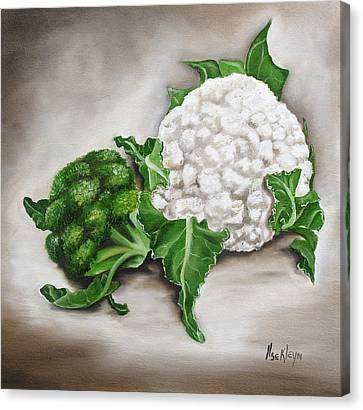 Cauliflower Canvas Print by Ilse Kleyn