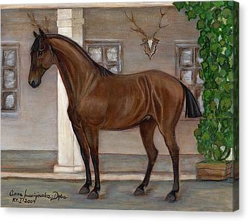 Cavalry Horse Canvas Print