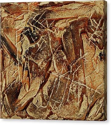 Cave Bird Canvas Print by Sonja Olson
