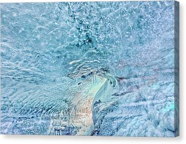 Canvas Print featuring the photograph Cave Colors by Wanda Krack