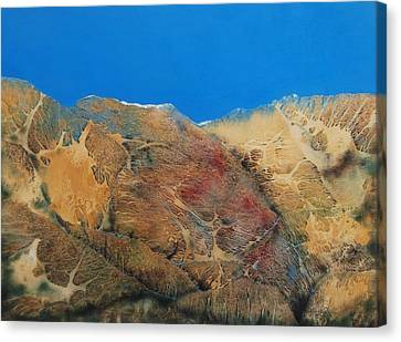 Cave Dweller Canvas Print by Shirley McMahon