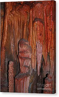 Canvas Print featuring the photograph Caves In Arizona by Donna Greene