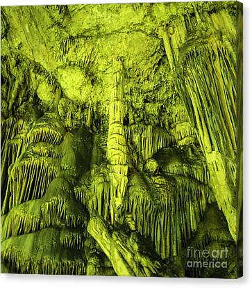 Caves Of Zeus  Canvas Print by Rob Hawkins