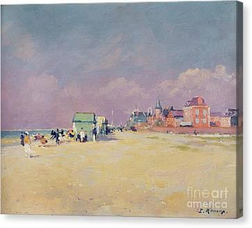 Cayeux Sur Mer Canvas Print