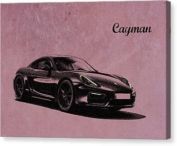 Cayman Canvas Print