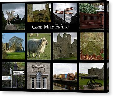 Cead Mile Failte Canvas Print by Maria Keady