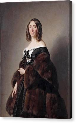 Cecile Charlotte Furtado-heine Canvas Print