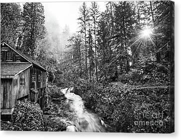 Cedar Creek Light Canvas Print