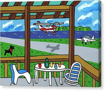 Cedar Key Airport Canvas Print