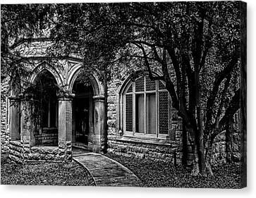 Canvas Print featuring the photograph Cedarhyrst by Jessica Brawley