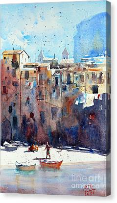 Cefalu 2 Canvas Print by Andre MEHU