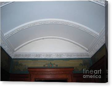 Canvas Print featuring the photograph Ceiling by Bill Thomson