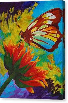 Celebrate Canvas Print by Karen Dukes