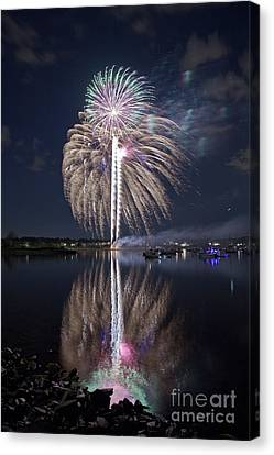 Celebrating The 4th Canvas Print