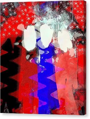 Celebration 3 Canvas Print by Mimo Krouzian