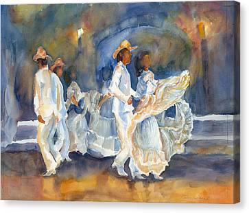 Celebration Canvas Print by Barbara Jung